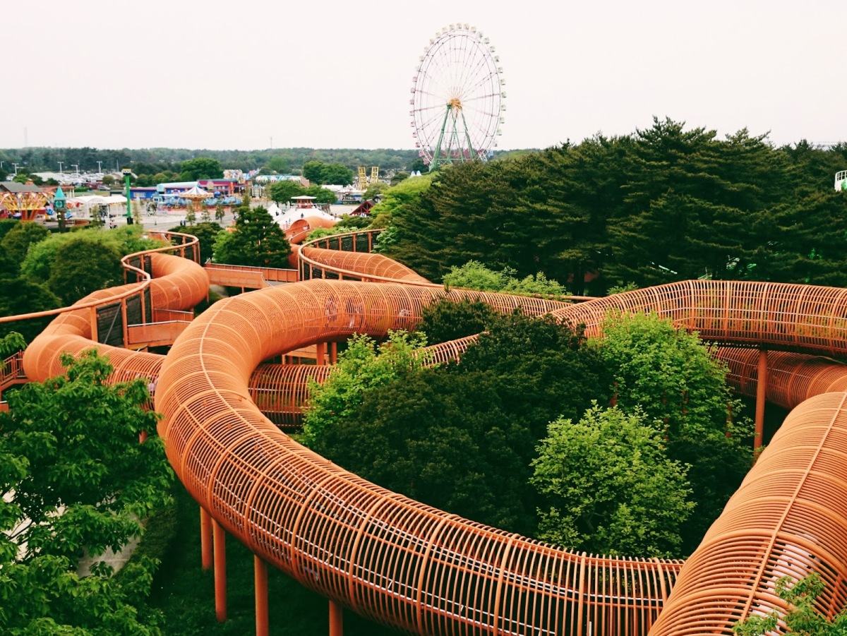 The Omoshiro Tube at Hitachi Seaside Park